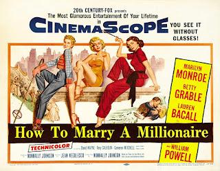 Póster película Cómo casarse con un millonario