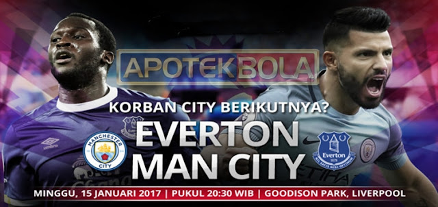Prediksi Pertandingan Everton vs Manchester City 15 Januari 2017