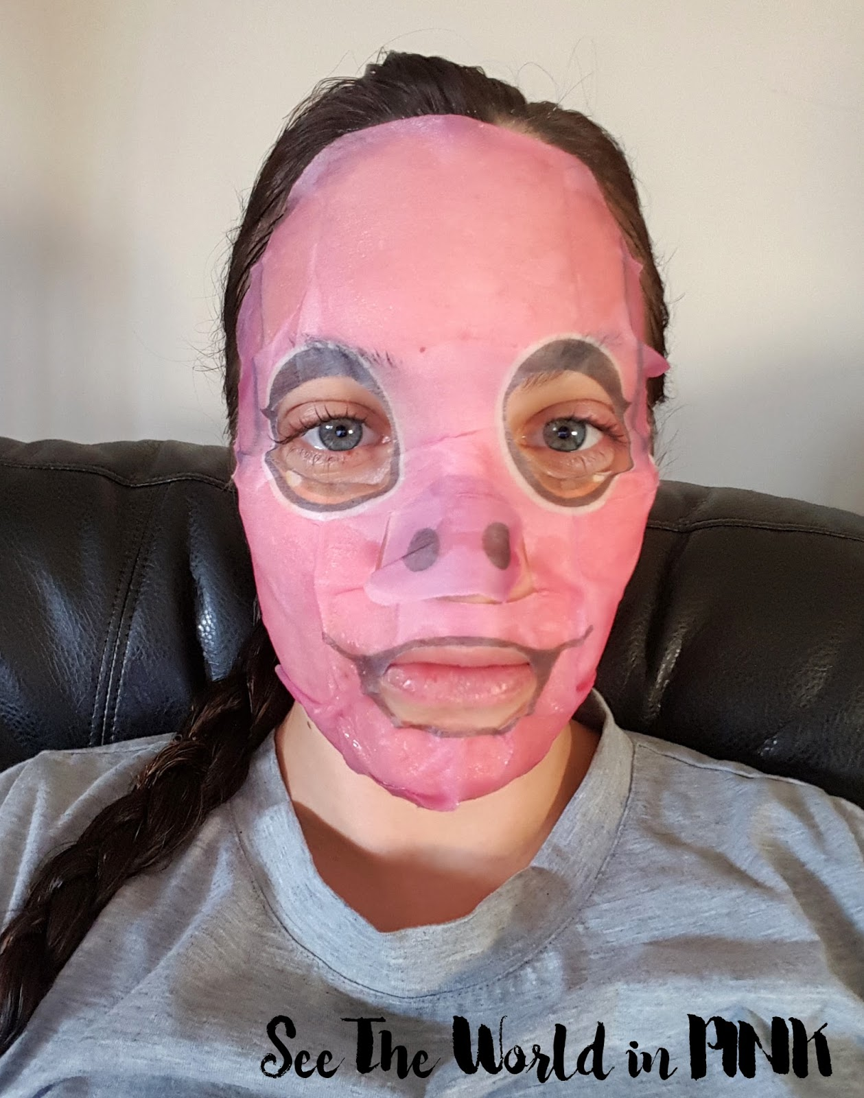 "The Face Shop Character Mask ""Pig Moisturizing"""