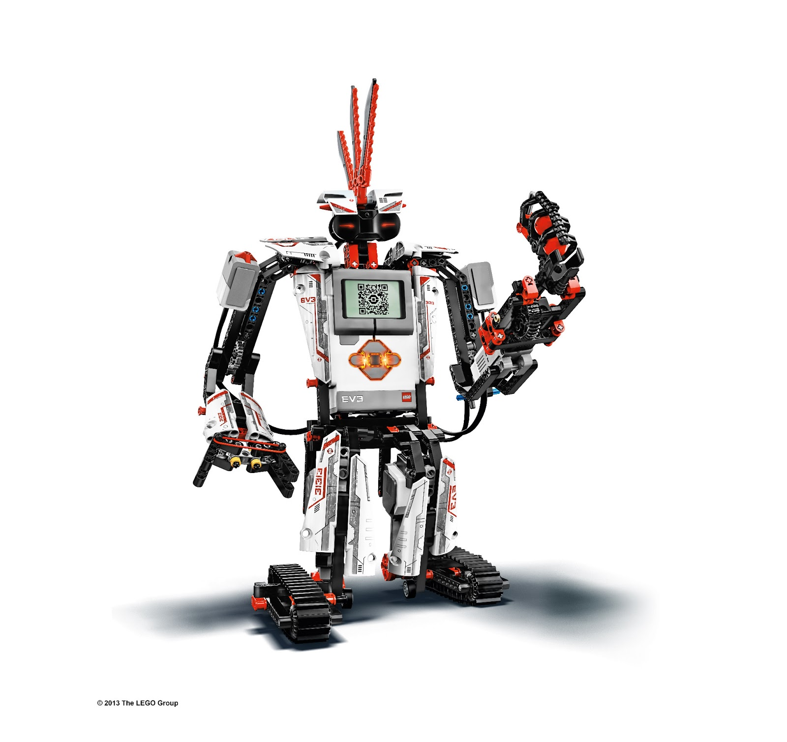 The 5 main robots from EV3 Home Edition