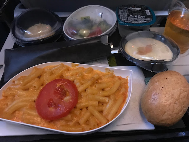 Turkish Airlines' inflight meal