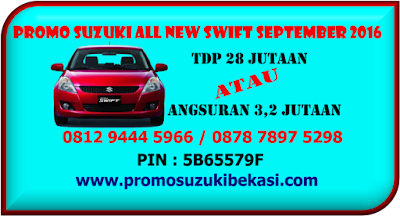 PROMO SUZUKI ALL NEW SWIFT SEPTEMBER 2016