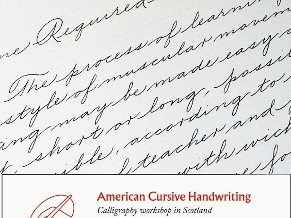 American Business Cursive Workshop with Alessandro Salice