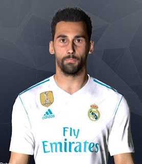 PES 2017 Faces Alvaro Arbeloa by Facemaker Ahmed El Shenawy