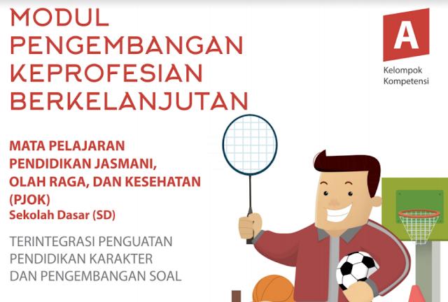 Modul PKB Guru PJOK SD Plus PPK Revisi Tahun 2017