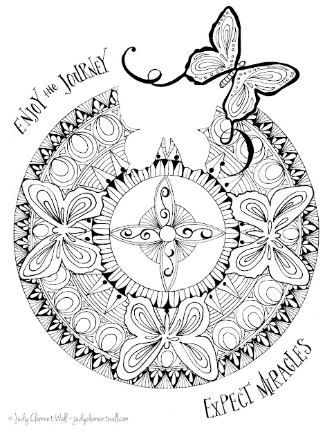 Magic Mandala Coloring Pages Coloring Pages