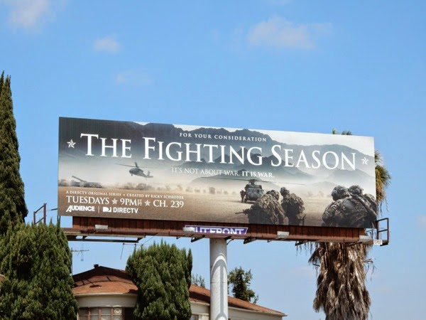 The Fighting Season Emmy 2015 billboard