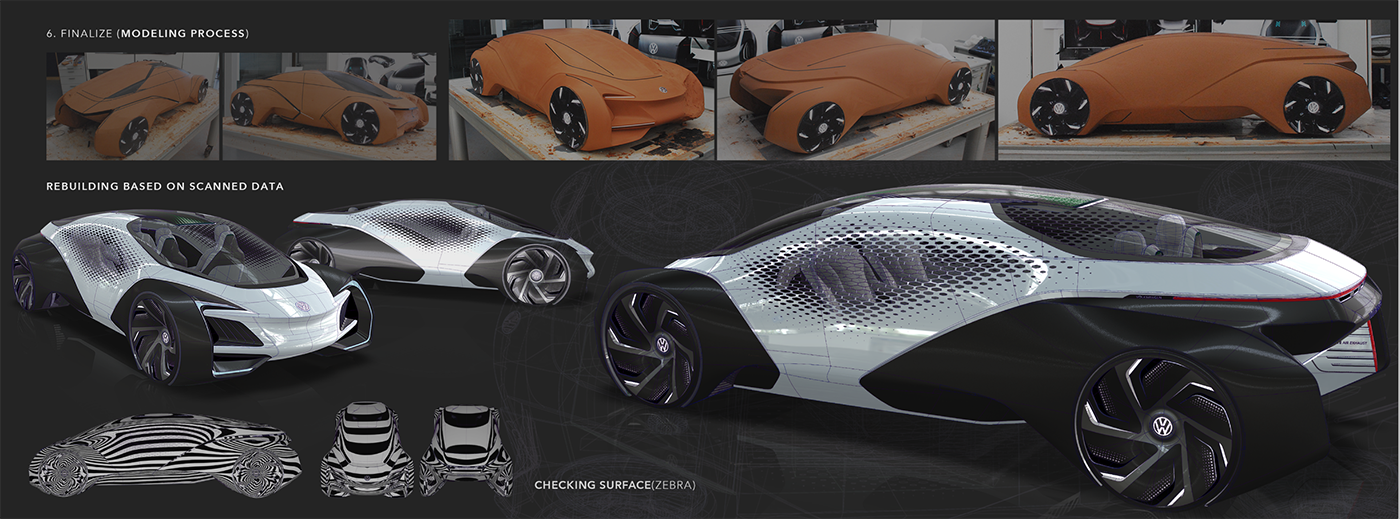 Nietypowy Okaz Volkswagen Aero-B by Jisoo Kim | motivezine HD04