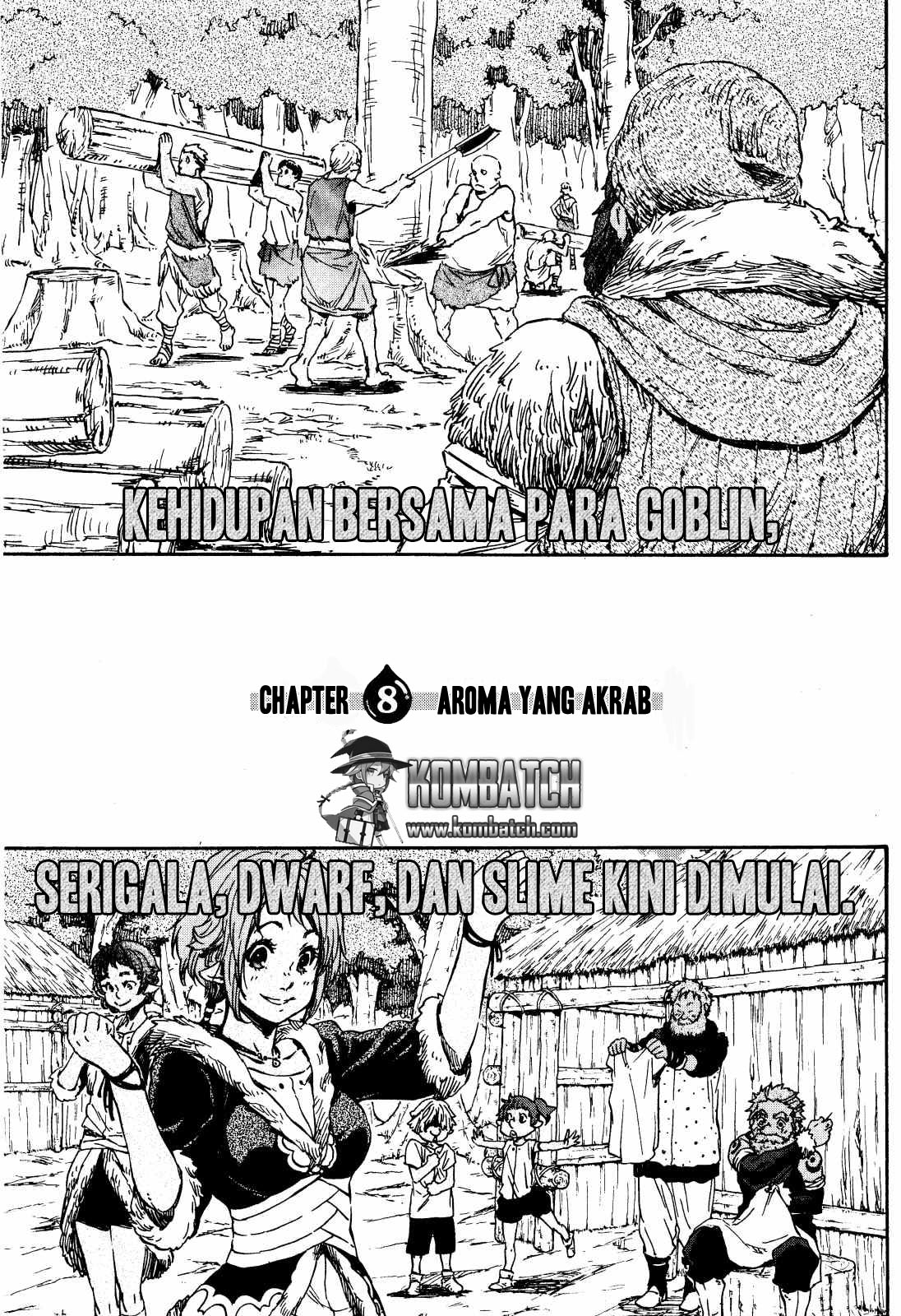 Baca Manga Tensei Shitara Slime Datta Ken Chapter 8 Bahasa Indonesia