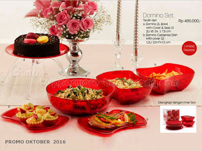 Domino Set ~ Tupperware Promo Oktober 2016