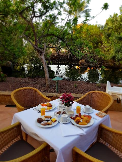 Colazione allo Sheraton-Fuerteventura