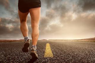 olahraga, jogging, membentuk otot