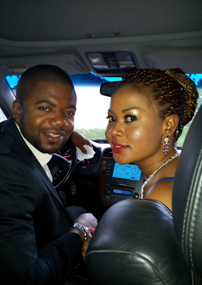 Cute couple: Nollywood actress, Stephanie Chijioke to wed her handsome fiancé (LOOK)