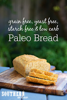 Yeast and Grain Free Paleo Bread Recipe
