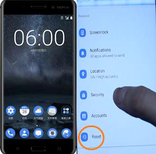 Reset Nokia 6