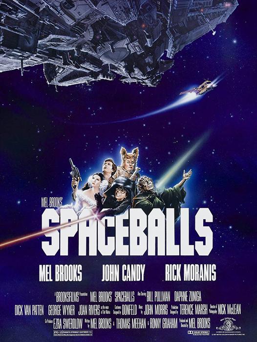 Poster Spaceballs 1987