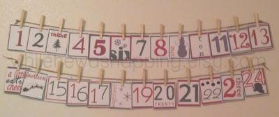 Preschool Activity Advent Calendar