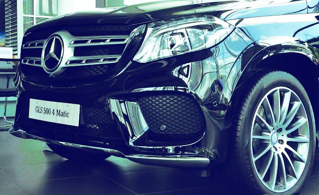 Mercedes GLS 500 4MATIC có thiết kế vô cùng ấn tượng
