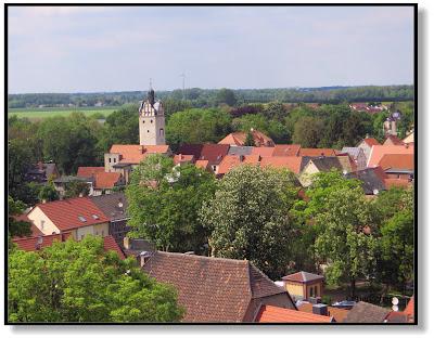Aussicht vom Schlossturm Zörbig