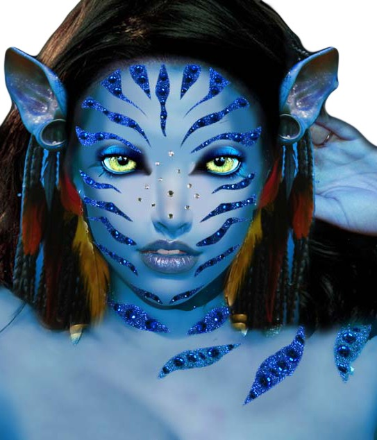 Inside The Costume Box: How To: Master Your Avatar Make-Up