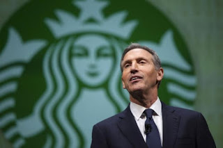 Starbucks CEO resigns