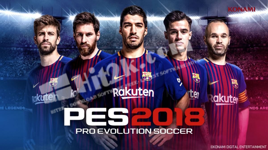 PTE Patch PES 2018 5.0 AIO Download
