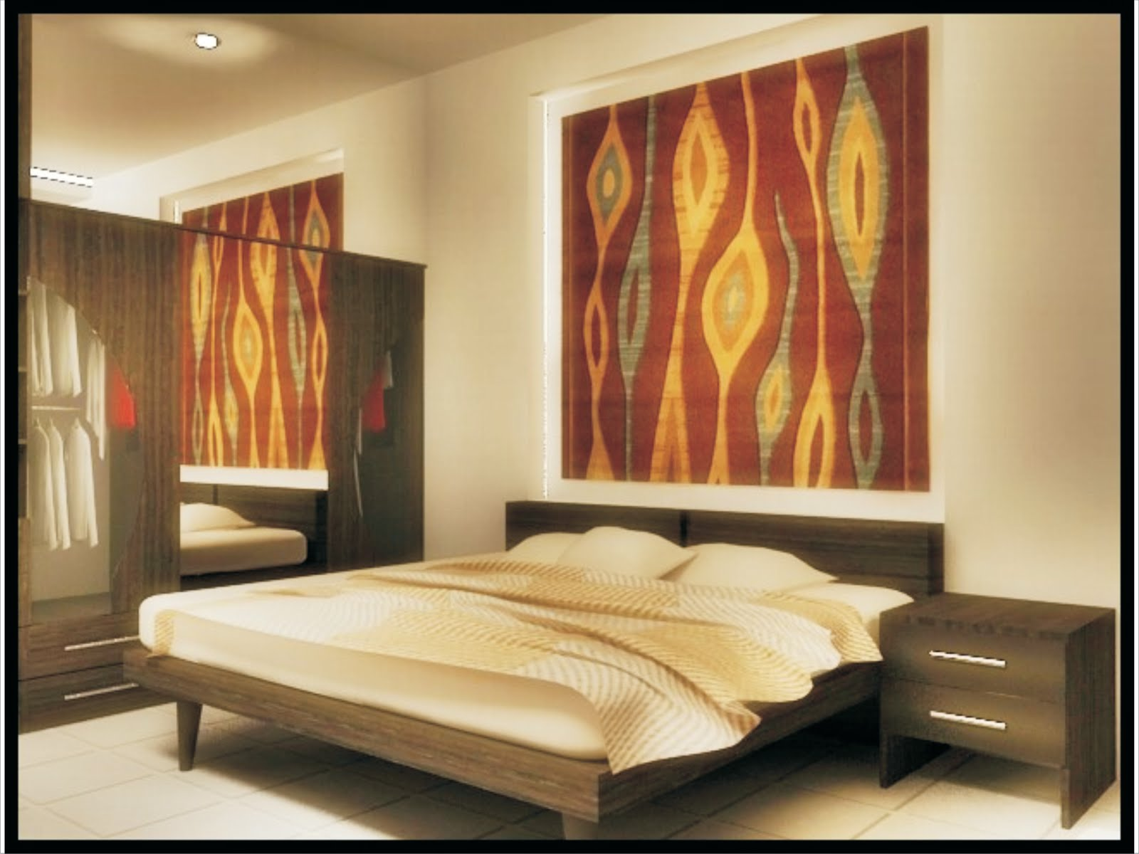Thiết kế phòng ngủ chính cho gia chủ theo phong cách tối giản