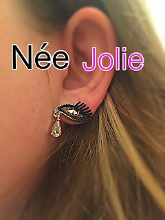 Bijoux boucle d'oreilles nail art