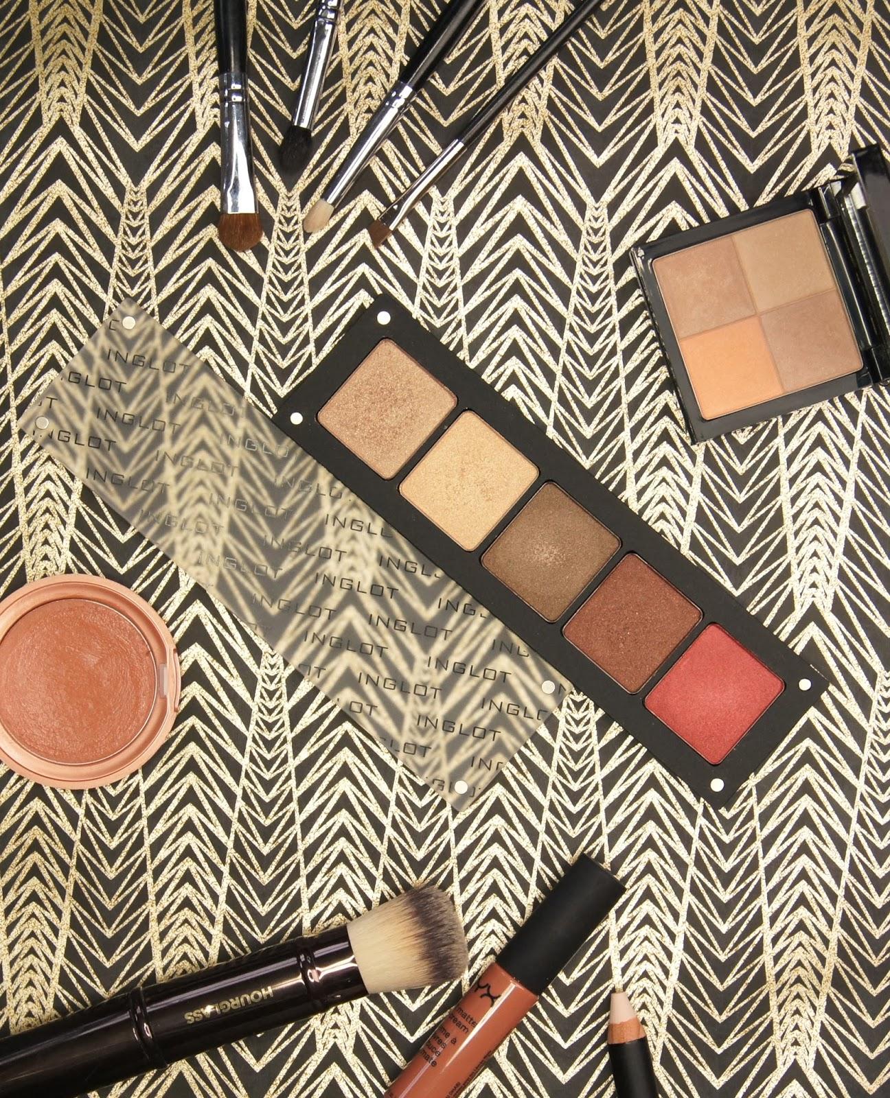 ingot freedom system custom eyeshadow palette review shades 07 11 421 422 607 mac comparison