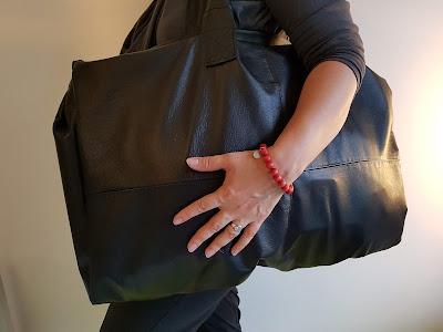nahkatakista laukku - ohje