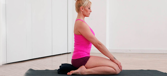 Virasana or Hero Pose Yoga Steps and Benefits