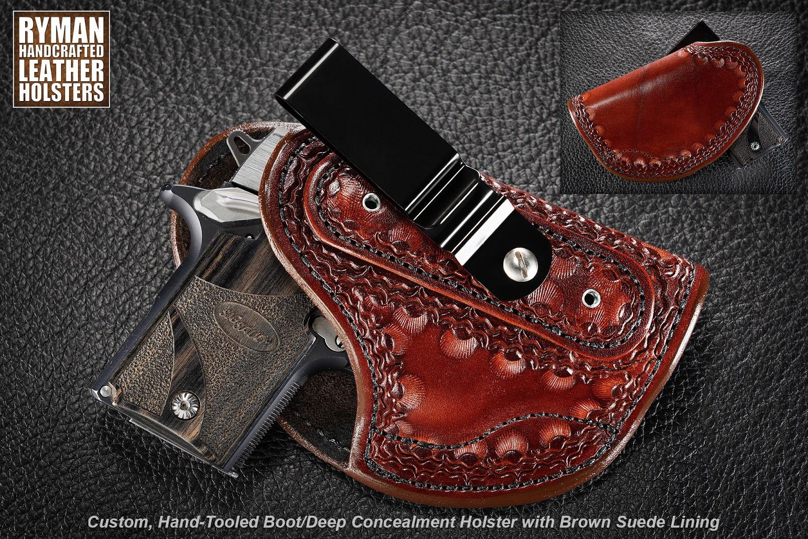 Boot Holster with Custom Tooling