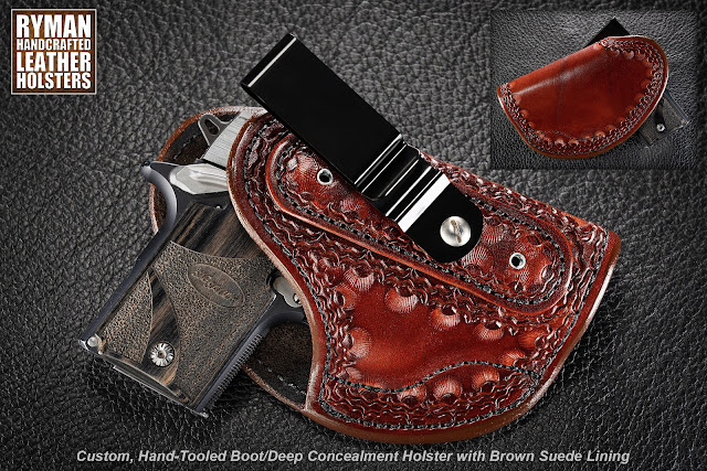 Boot Holster/Deep Concealment Holster by Ryman Holsters