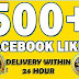 I will add permanent 500 worldwide Facebook fan page like only for 5$