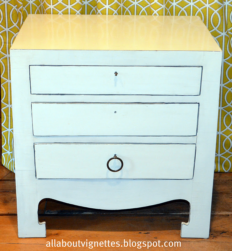 separation shoes d3c44 0442a All About Vignettes: Modern Chinoiserie Night Stand