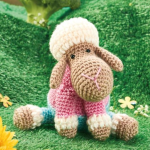 http://www.topcrochetpatterns.com/free-crochet-patterns/lamb-toy
