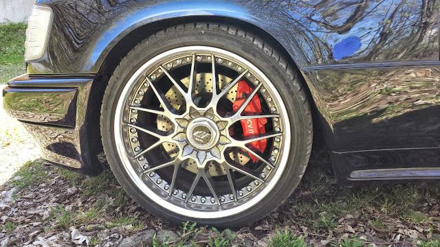 w124 brakes