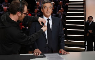 François Fillon avant le débat de TF1, lundi soir. (Reuters)