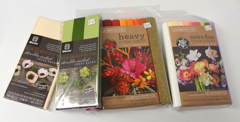 Ben Franklin Crafts And Frame Shop Diy Crepe Paper Flowers