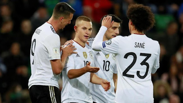 Kualifikasi Piala Dunia 2018: Kalahkan Irlandia Utara, Jerman Melaju ke Putaran Final