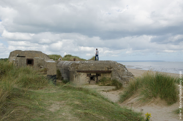 PLaya de Utah visitar playas desembarco Normandia roadtrip