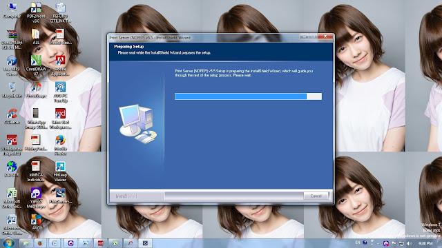 Cara Install Print Server Sabre