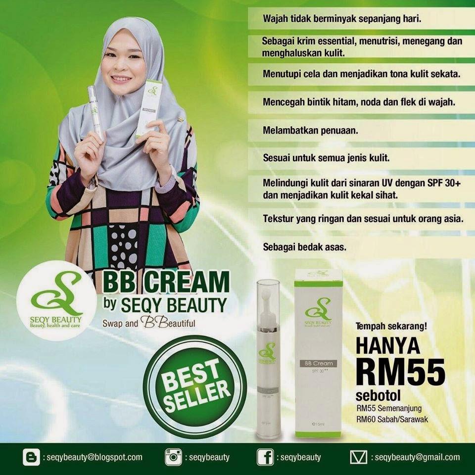BB Cream & Sakura Mask Seqy Beauty memang terbaik !