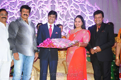 Balakrishna in Jyothirmayi's wedding