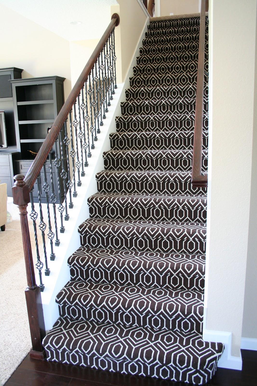 The Vernon Blog: Stair carpet