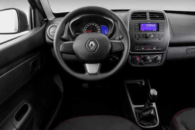 Renault Kwid Zen - interior