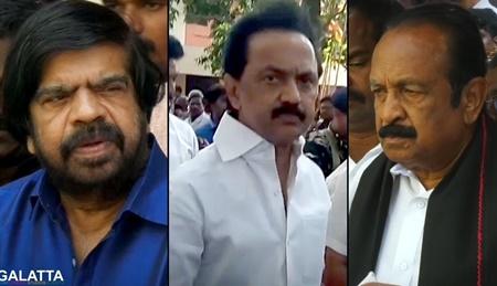 VK Sasikala's Husband Natarajan Death: MK Stalin, Vaiko, T Rajendar Pay Respects