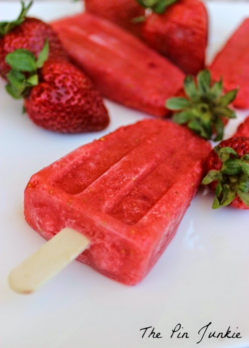 Copy-Cat Outshine Strawberry Popsicle Recipe