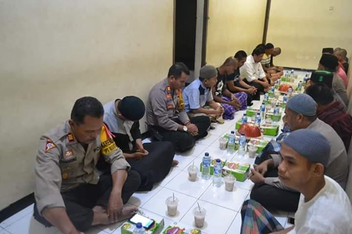 Buka Puasa Bersama di Rumah Tahanan Polres Palopo