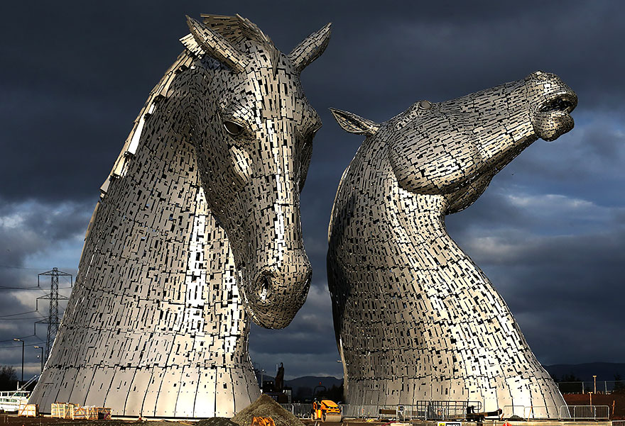 Kelpies,Grangemouth, UK